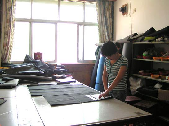手提皮包裁剪图纸